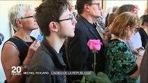 Hommages à Michel Rocard, La France lui rend hommage