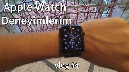 Apple Watch Deneyimlerim | 50 Saatlik Pil Süresi | vlog #4