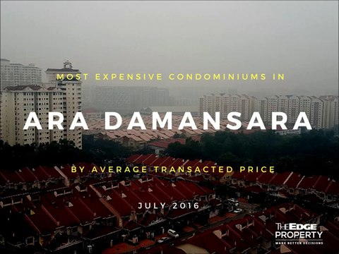 Most expensive condos in Ara Damansara