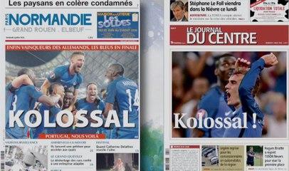 Quand la presse française se moque des Allemands !