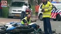 Fietser (15) ernstig gewond bij verkeersongeval met motorrijder in Ede
