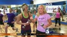 Allie MacKay - Shake Weight Workout Part!