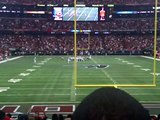 Falcons vs 49ers - Game winning FG!!! 10-3-2010