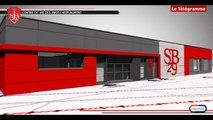 Stade Brestois 29. Découvrez en 3D le futur centre d'entraînement