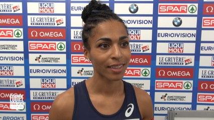 Championnats d'Europe d'Amsterdam : Floria Gueï : « Je savoure cette médaille »