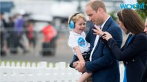Prince George Begins The Circuit Of Official U.K. Events