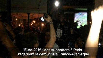 Euro 2016: Paris explose après la victoire en demi-finale