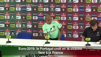 Euro-2016: le Portugal croit en la victoire face à la France