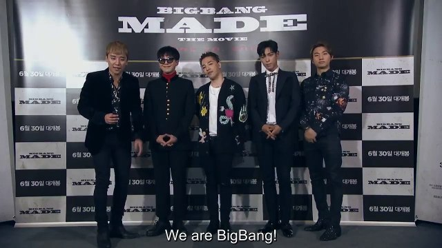[ENGSUB] 빅뱅 BIGBANG ~ WORLD TOUR 2015~2016 [MADE] IN JAPAN _ THE FINAL (Message)