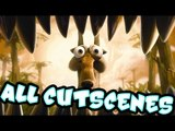 Ice Age 3: Dawn of the Dinosaurs All Cutscenes | Game Movie (PS3, X360, PC, Wii)