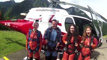 Switzerland - Emily goes skydiving in the Swiss Alps