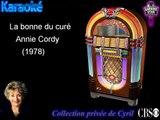 """Karaoké Annie Cordy """"La bonne du curé"""""""