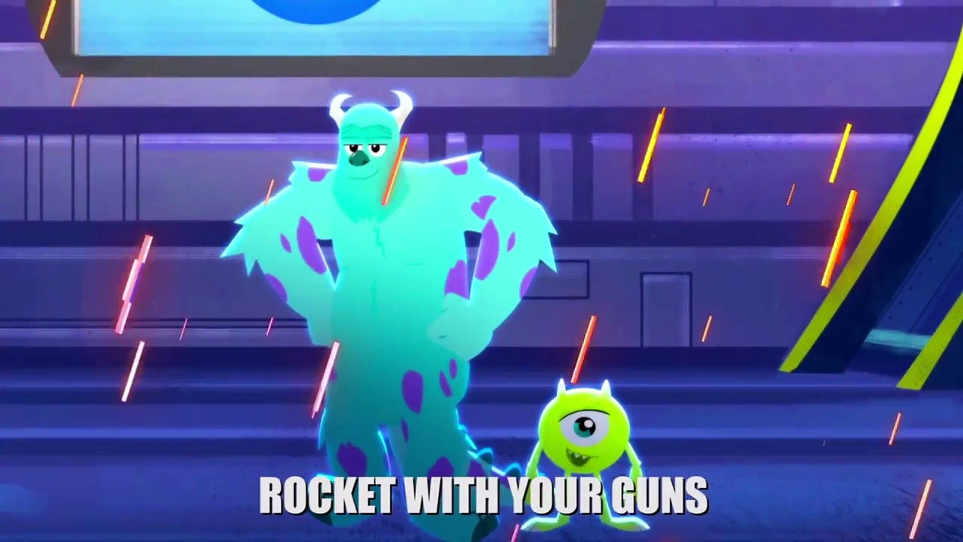 Mike & Sully vs Rocket & Groot ARB early upload