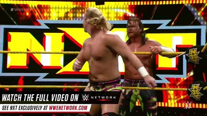 Rhyno Gores The Hype Bros & Wesley Blake_ WWE NXT, July 6, 2016