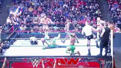 Team U.S.A. vs. The Multinational Alliance - 16-Man Elimination Tag Team Match_ Raw, July 4, 2016