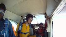 Saut test Brevet B Nathalie 15 sauts