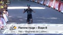 Flamme rouge - Étape 8 (Pau / Bagnères-de-Luchon) - Tour de France 2016