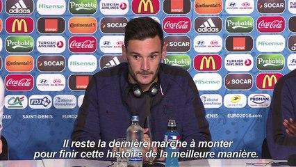 """Euro-2016 - Lloris : """"Les Français ont besoin de s'évader"""""""