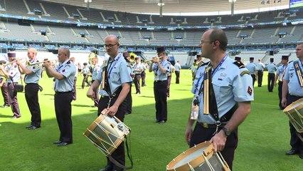 Euro 2016: répétition pour la cérémonie de clôture