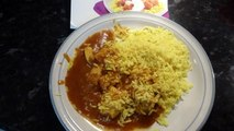 Morrison savers chicken curry and rice 400g ready meal taste test