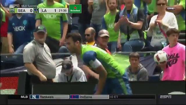 HIGHLIGHTS : Seattle Sounders vs. LA Galaxy   July 9, 2016 MLS