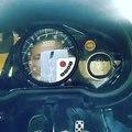 VDO Performance 10k RPM tachometer and VDO black vision fuel gauge