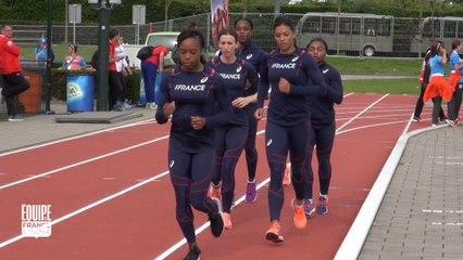 Championnats d'Europe d'Amsterdam : La préparation des relais 4x100 m