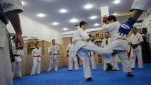 Kumite de examen So Kyokushin Argentina  9 de Julio de 2016 14