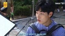 [ENG SUB] Lucky Romance Ep.12 BTS -  Suho x Bonui's fun way to work
