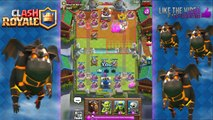 Clash Royale 19 LAVA HOUNDS! World Record! Most Lava Hounds on Map in Clash Royale
