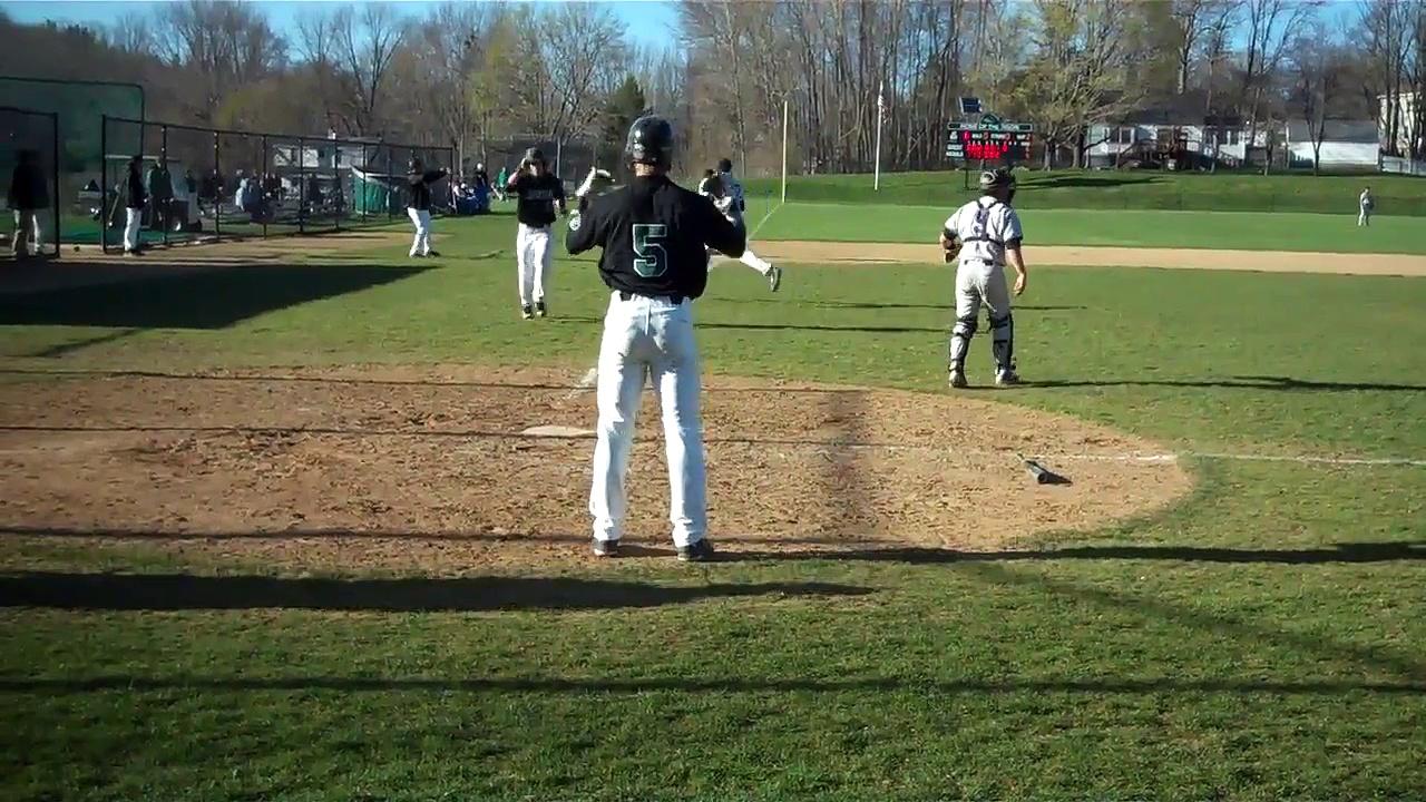 Nichols College baseball vs No. 25 Amherst 4-19-16