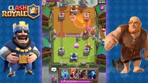 Clash Royale - Amazing Giant Hog Rider Poison Deck and Strategy for Arena 5, 6, 7, 8
