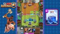 Clash Royale - Amazing Hog Rider   Lightning Deck and Strategy for Arena 5, 6, 7, 8
