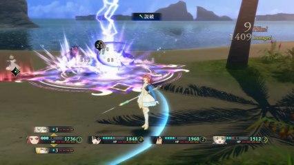 35 minutes de gameplay de Tales of Berseria