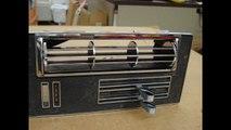 1966 1967 LEMANS GTO AC CONTROL & CENTER VENT AIR CONDITIONING 389 326 PONTIAC