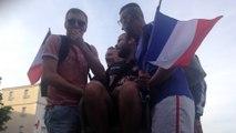 Les supporters des Bleus déchaînés à Angoulême !