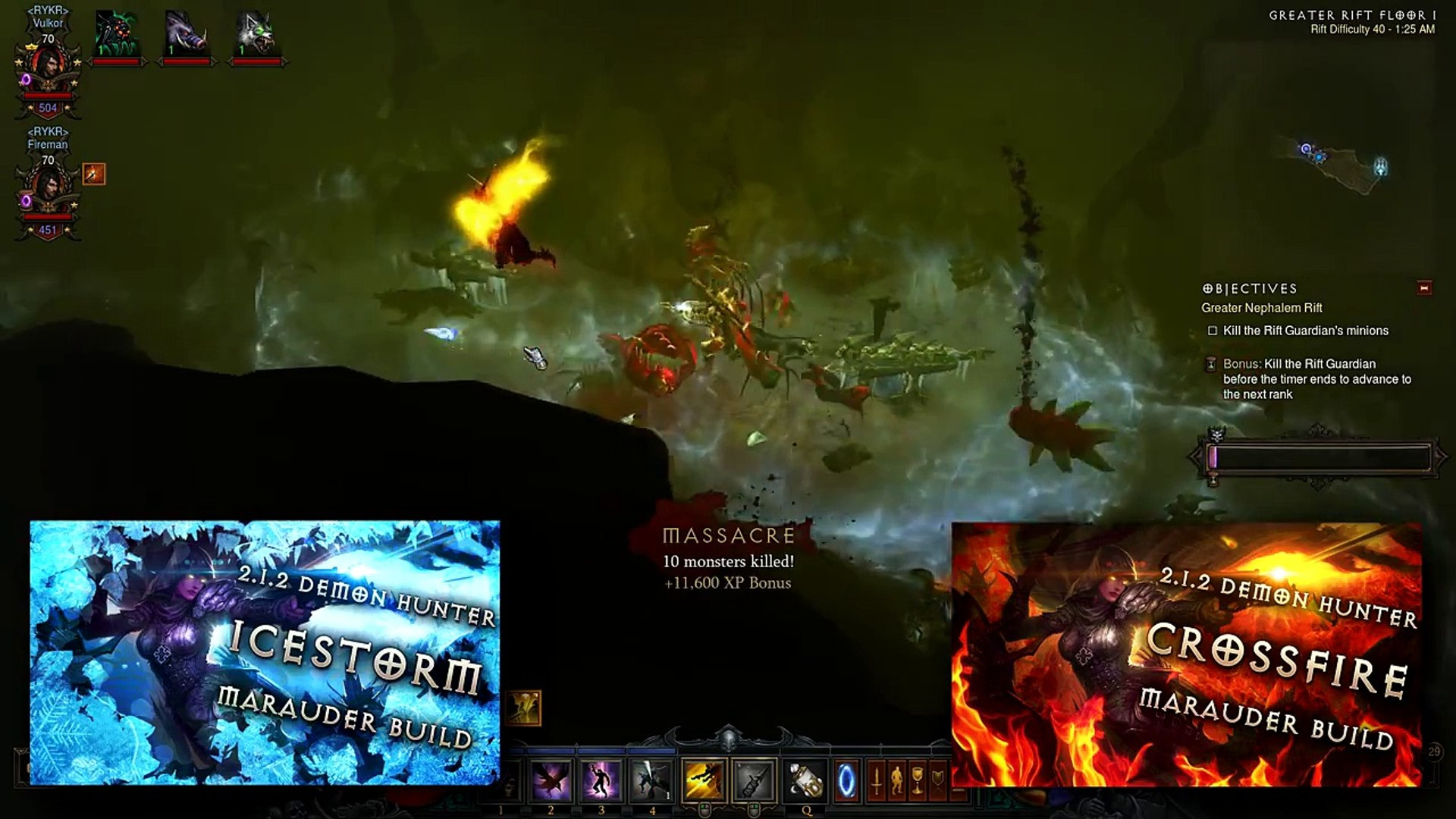 Which Is Better- Fire or Cold Build- Demon Hunter Marauder Guide (Diablo 3- Reaper of Souls)