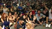Portugal-France : du monde sur le Vieux-Port de Marseille pour supporter les Bleus