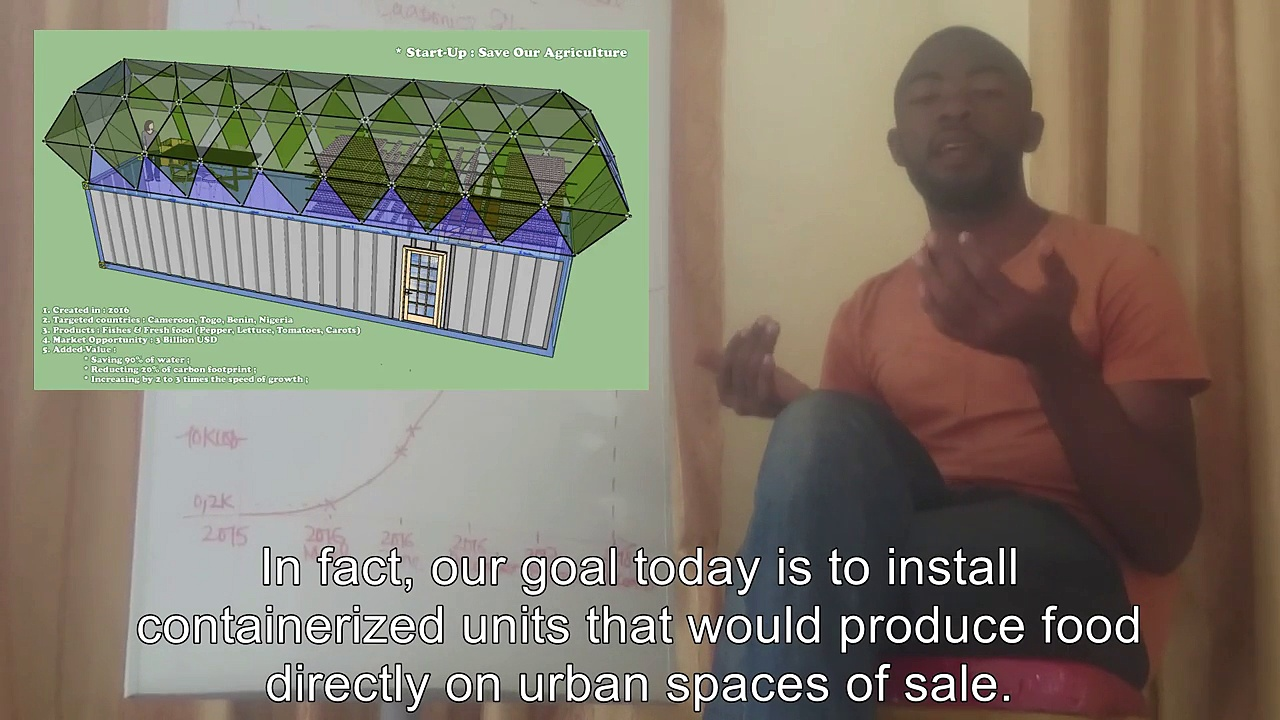 """Flavien KOUATCHA talks about """"Save Our Agriculture"""" and market opportunity of aquaponics"""