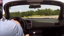 Honda S2000 Houston SCCA Solo2 Autocross 7-10-16 at Houston Police Academy