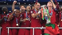 Portugal vs France 1-0 - Portugal Champions Trophy Celebration - English Commentary- EURO CUP FINAL- Euro cup winners