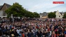 Pontivy. Euro 2016 : la foule, place Anne de Bretagne