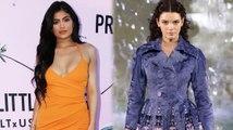 Kendall Jenner steht auf dem Fendi Laufsteg, während Kylie für Pretty Little Things wirbt