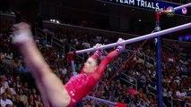 Olympic Gymnastics Trials | Aly Raisman Wants Redemption On Uneven Bars