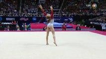 Olympic Gymnastics Trials -- Madison Kocian's Floor Exercise Earns 14.7