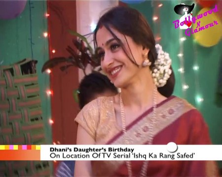 On Location Of TV Serial 'Ishq Ka Rang Safed'