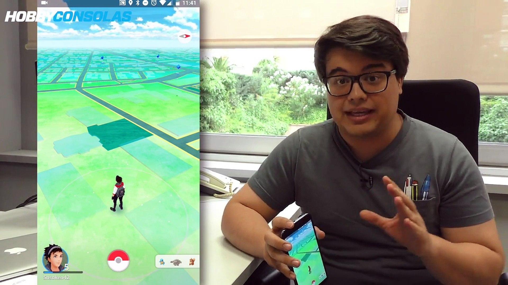 Pokémon GO - Cómo capturar Pokémon sin andar