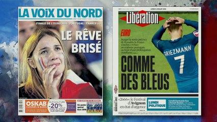 La presse française pleure ses Bleus