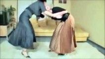 Female Wrestling Match in Offcie