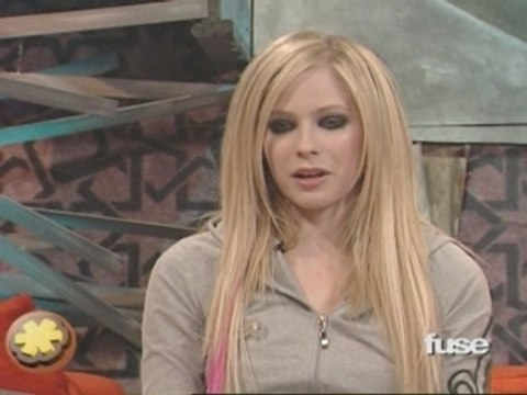 Avril Lavigne talks about her album on The Sauce